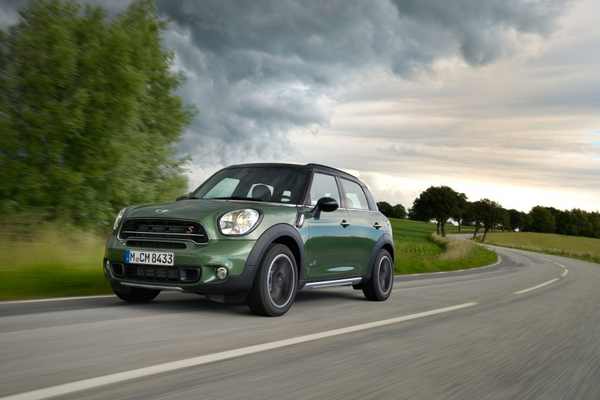 GALLERY: MINI Countryman, Paceman facelift detailed Image #258245