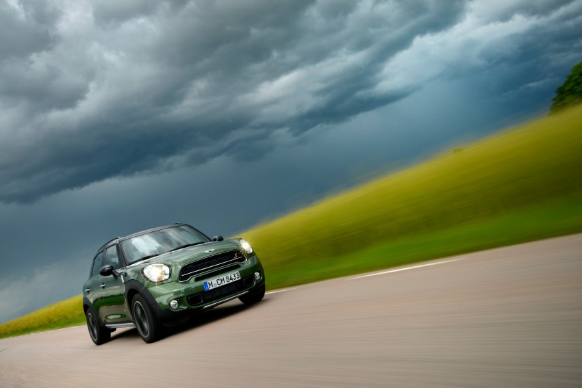 GALLERY: MINI Countryman, Paceman facelift detailed Image #258296