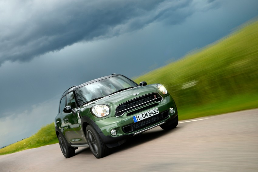 GALLERY: MINI Countryman, Paceman facelift detailed Image #258260