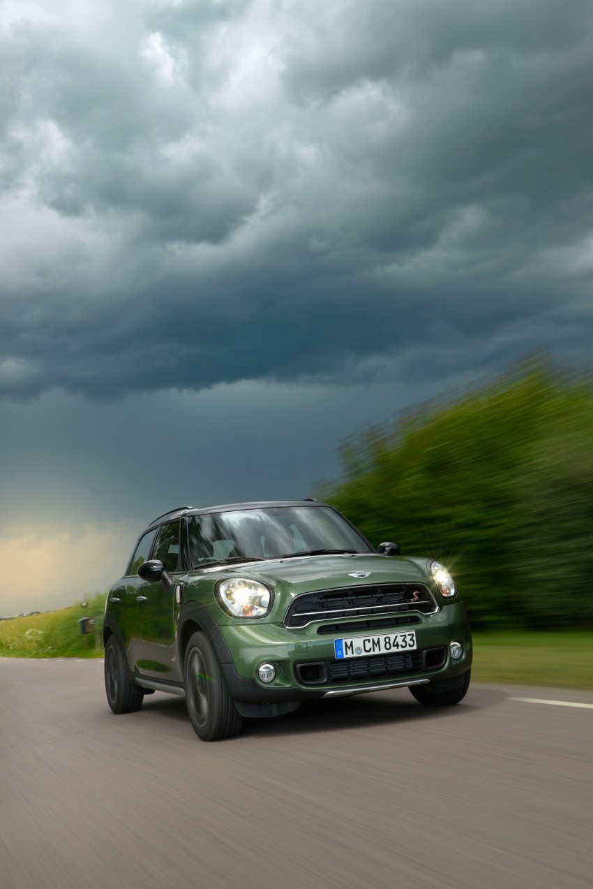 GALLERY: MINI Countryman, Paceman facelift detailed Image #258348