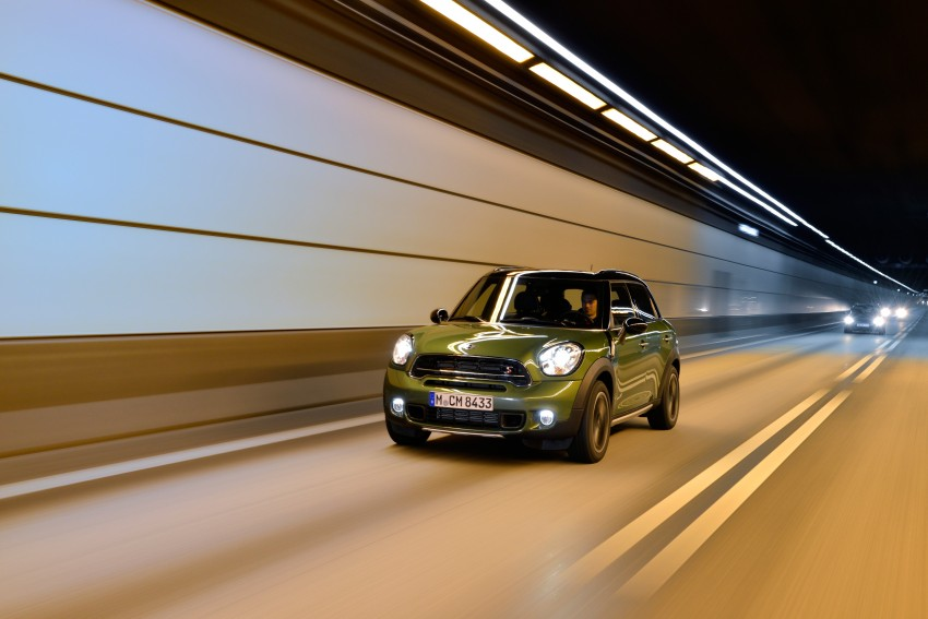 GALLERY: MINI Countryman, Paceman facelift detailed Image #258240