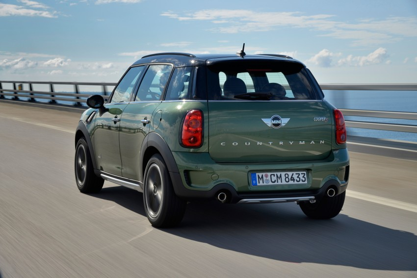 GALLERY: MINI Countryman, Paceman facelift detailed Image #258305