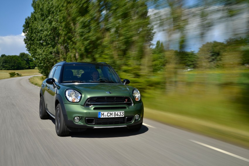 GALLERY: MINI Countryman, Paceman facelift detailed Image #258223