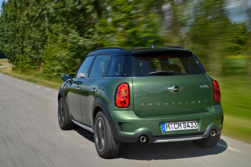 GALLERY: MINI Countryman, Paceman facelift detailed Image #258216