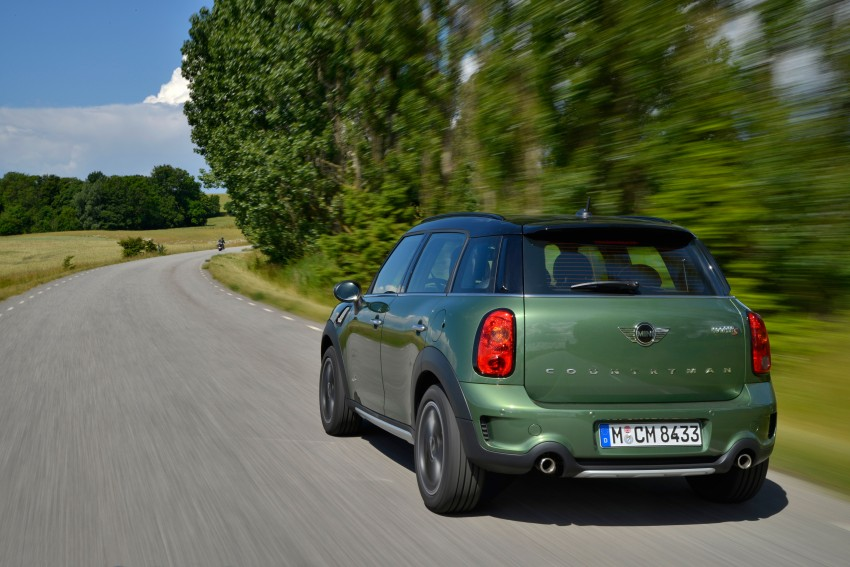 GALLERY: MINI Countryman, Paceman facelift detailed Image #258213