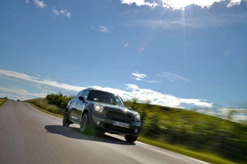 GALLERY: MINI Countryman, Paceman facelift detailed Image #258365