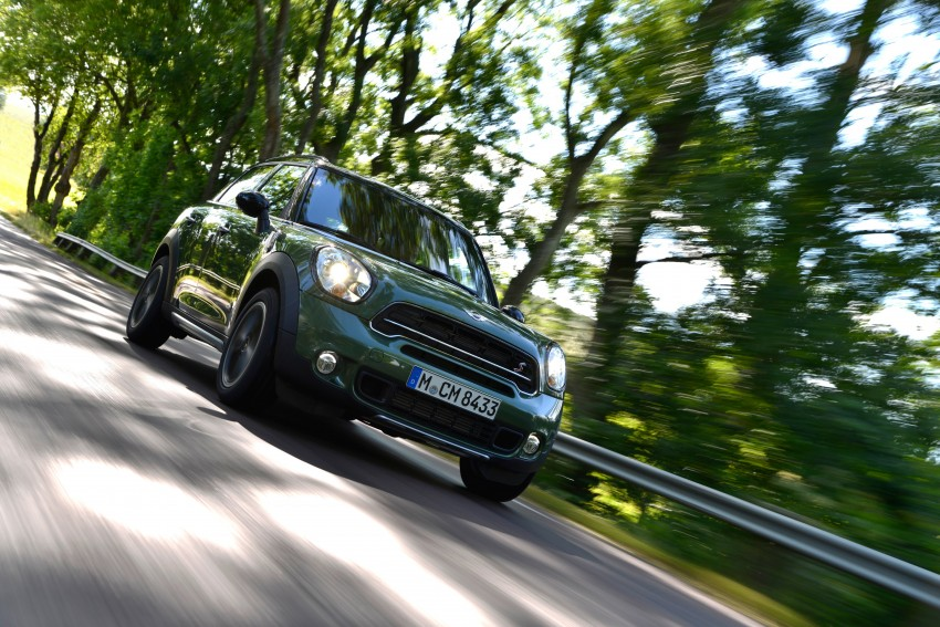 GALLERY: MINI Countryman, Paceman facelift detailed Image #258165