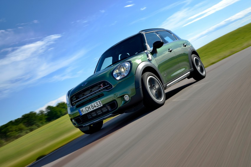 GALLERY: MINI Countryman, Paceman facelift detailed Image #258341