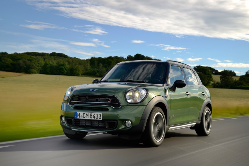 GALLERY: MINI Countryman, Paceman facelift detailed Image #258359