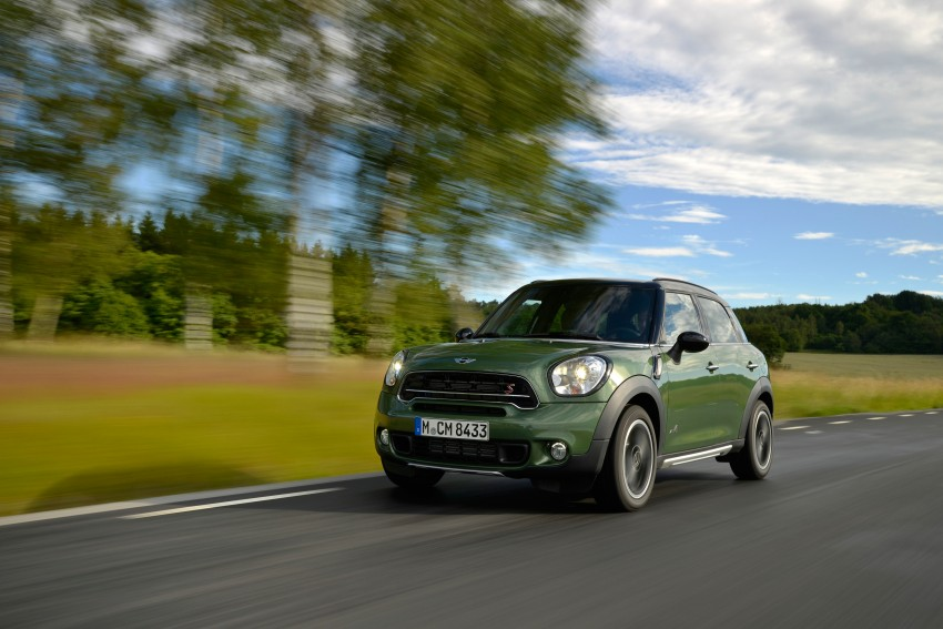 GALLERY: MINI Countryman, Paceman facelift detailed Image #258238