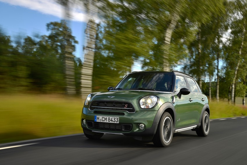 GALLERY: MINI Countryman, Paceman facelift detailed Image #258214