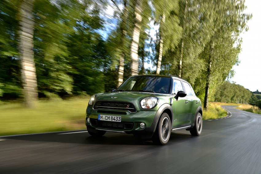 GALLERY: MINI Countryman, Paceman facelift detailed Image #258187
