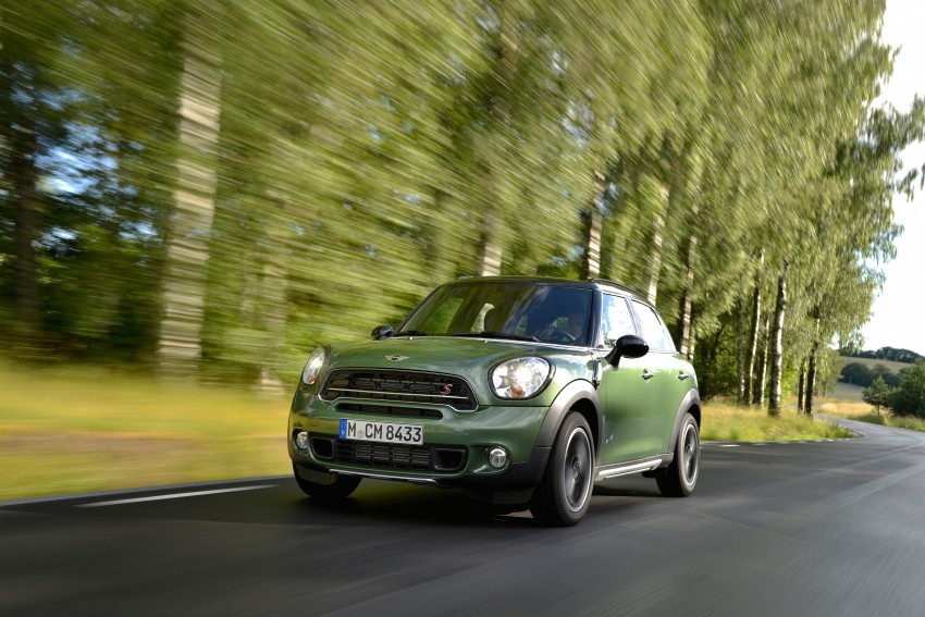 GALLERY: MINI Countryman, Paceman facelift detailed Image #258192