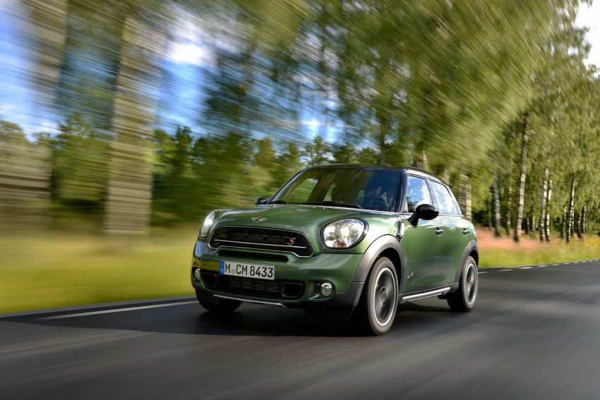 GALLERY: MINI Countryman, Paceman facelift detailed Image #258164