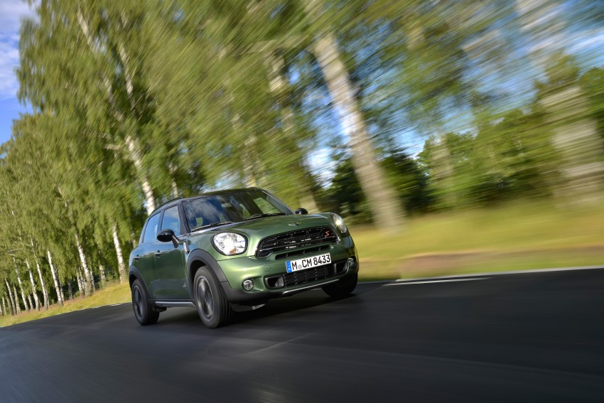GALLERY: MINI Countryman, Paceman facelift detailed Image #258170