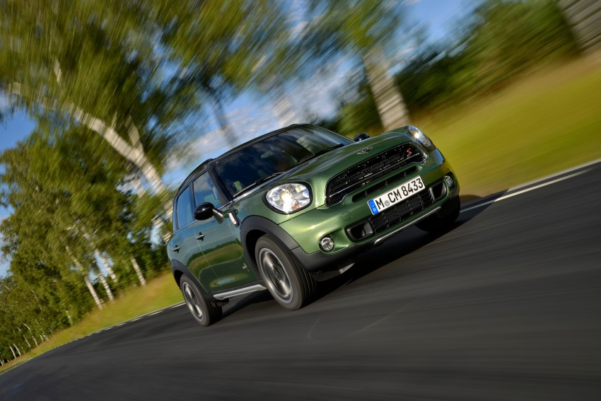 GALLERY: MINI Countryman, Paceman facelift detailed Image #258200