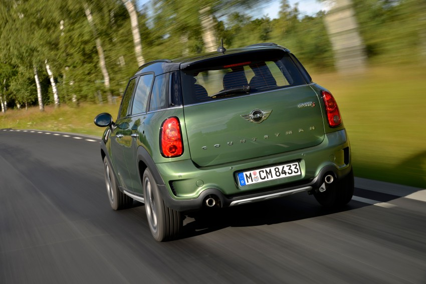 GALLERY: MINI Countryman, Paceman facelift detailed Image #258328