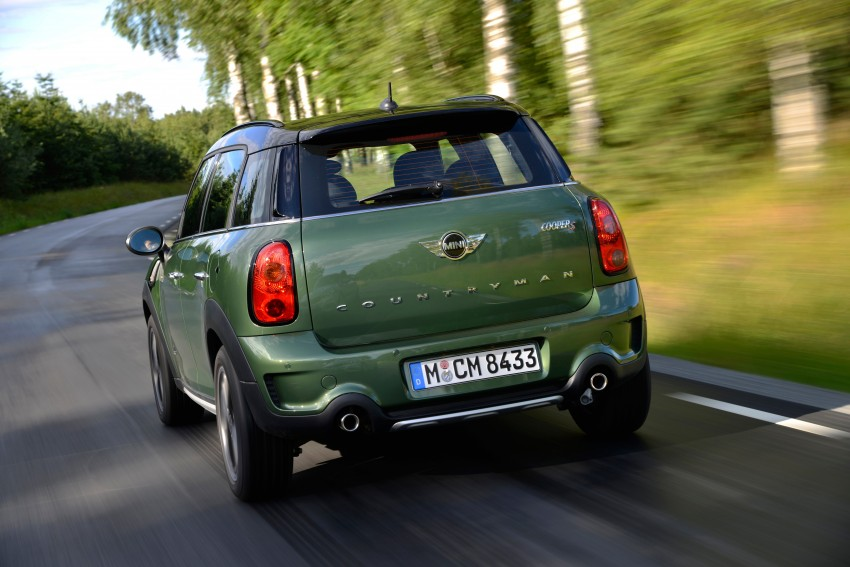 GALLERY: MINI Countryman, Paceman facelift detailed Image #258335