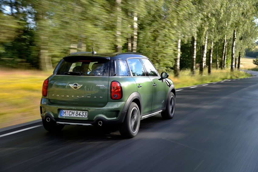 GALLERY: MINI Countryman, Paceman facelift detailed Image #258203