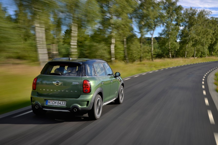 GALLERY: MINI Countryman, Paceman facelift detailed Image #258205