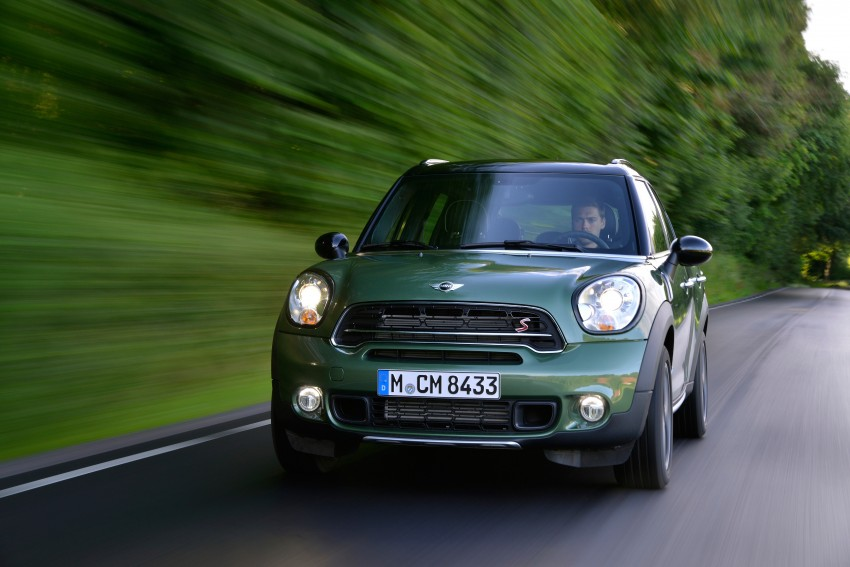 GALLERY: MINI Countryman, Paceman facelift detailed Image #258210