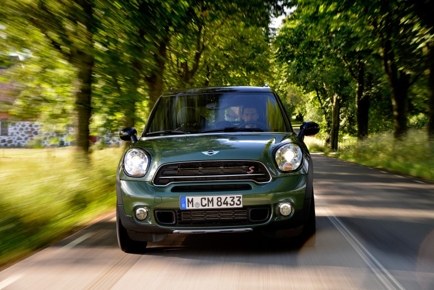 GALLERY: MINI Countryman, Paceman facelift detailed Image #258169