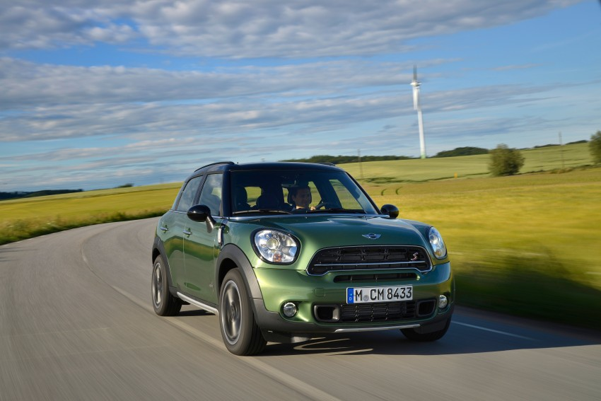 GALLERY: MINI Countryman, Paceman facelift detailed Image #258275