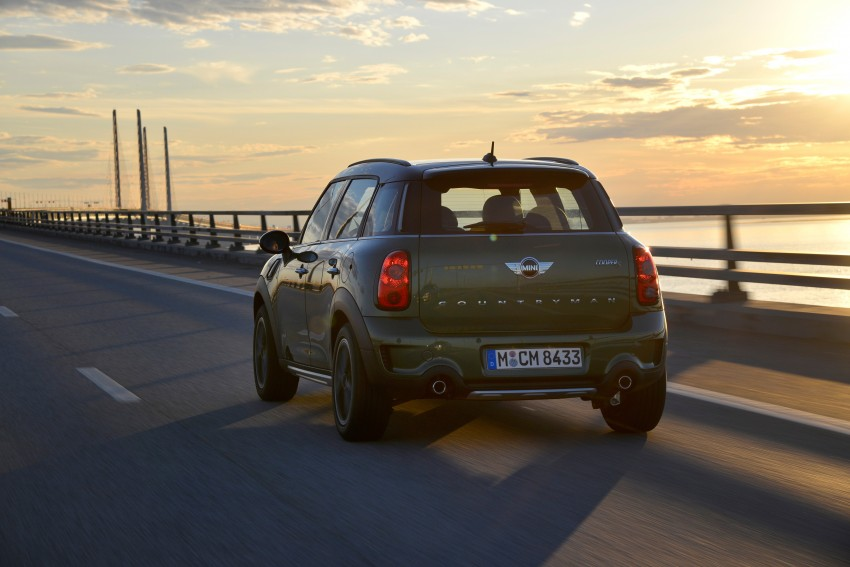 GALLERY: MINI Countryman, Paceman facelift detailed Image #258263