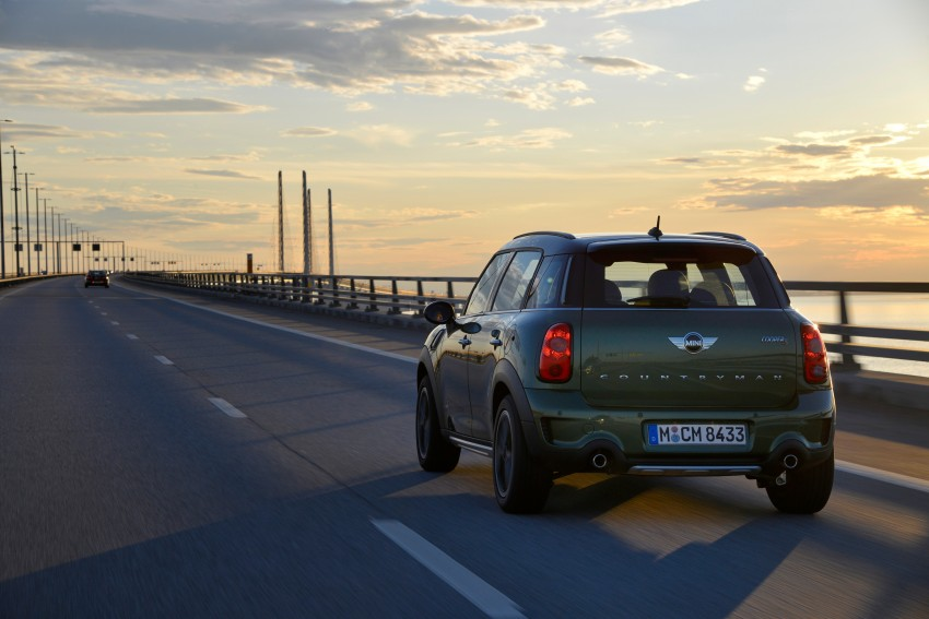 GALLERY: MINI Countryman, Paceman facelift detailed Image #258320