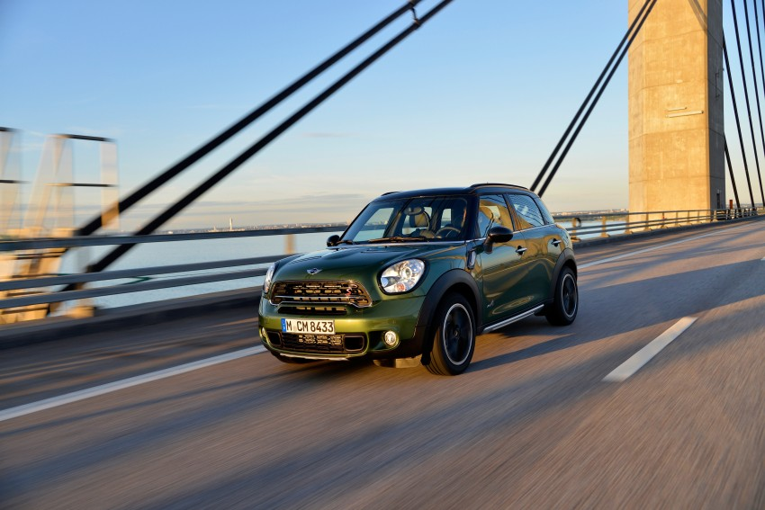 GALLERY: MINI Countryman, Paceman facelift detailed Image #258231