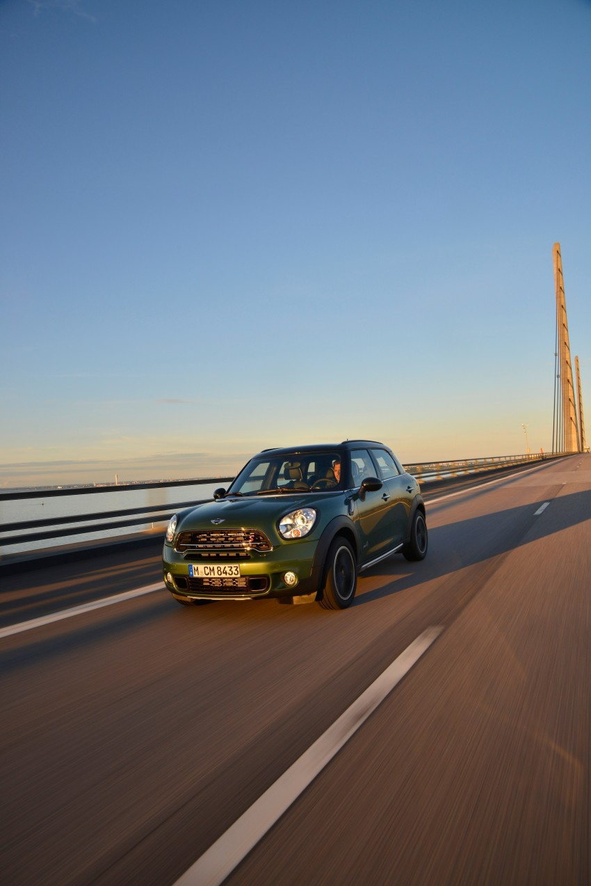 GALLERY: MINI Countryman, Paceman facelift detailed Image #258273