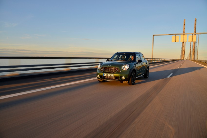 GALLERY: MINI Countryman, Paceman facelift detailed Image #258293