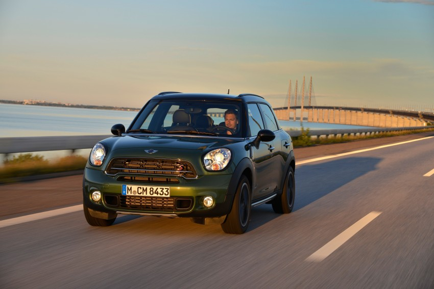 GALLERY: MINI Countryman, Paceman facelift detailed Image #258254