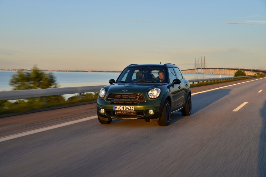 GALLERY: MINI Countryman, Paceman facelift detailed Image #258265
