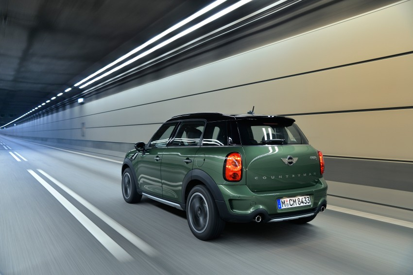 GALLERY: MINI Countryman, Paceman facelift detailed Image #258191