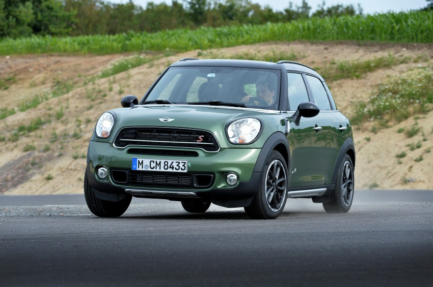 GALLERY: MINI Countryman, Paceman facelift detailed Image #258322
