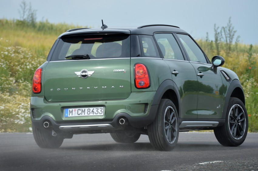 GALLERY: MINI Countryman, Paceman facelift detailed Image #258327