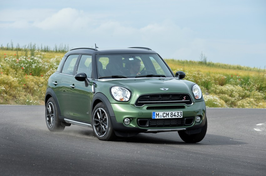 GALLERY: MINI Countryman, Paceman facelift detailed Image #258300