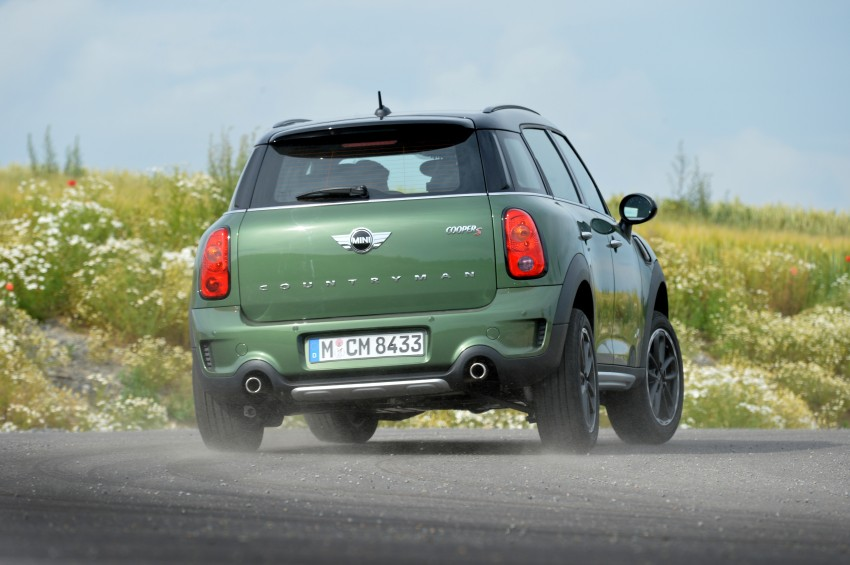 GALLERY: MINI Countryman, Paceman facelift detailed Image #258330