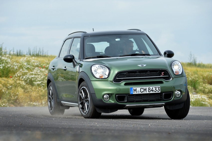 GALLERY: MINI Countryman, Paceman facelift detailed Image #258367