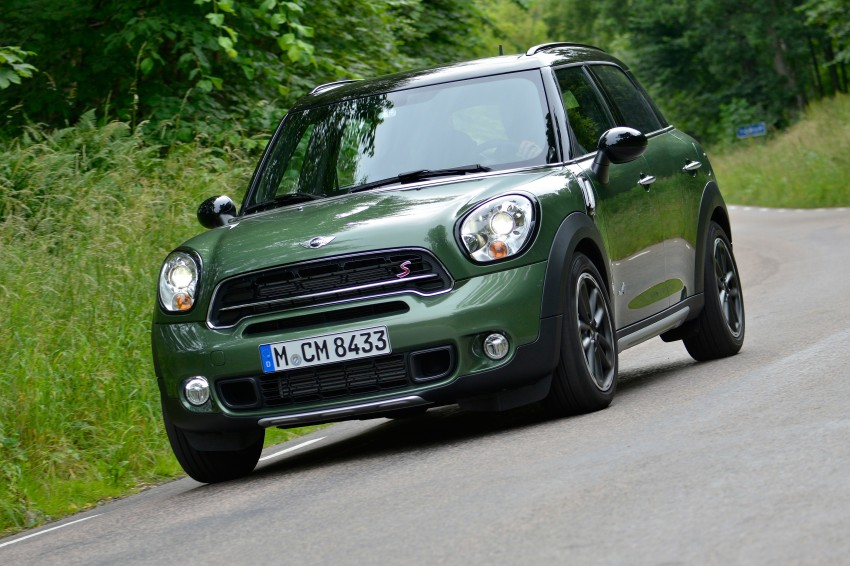 GALLERY: MINI Countryman, Paceman facelift detailed Image #258172