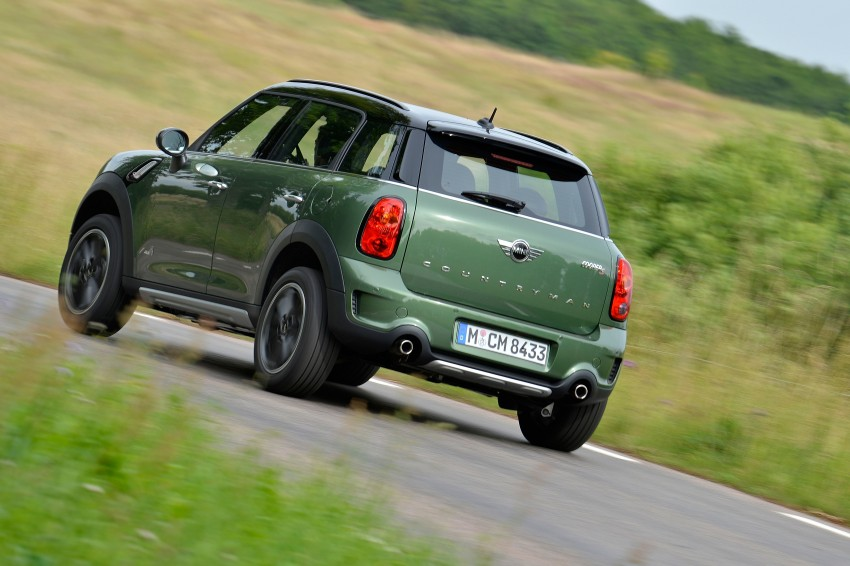 GALLERY: MINI Countryman, Paceman facelift detailed Image #258211