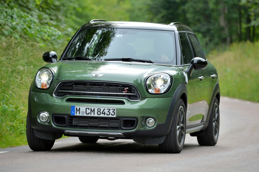 GALLERY: MINI Countryman, Paceman facelift detailed Image #258271
