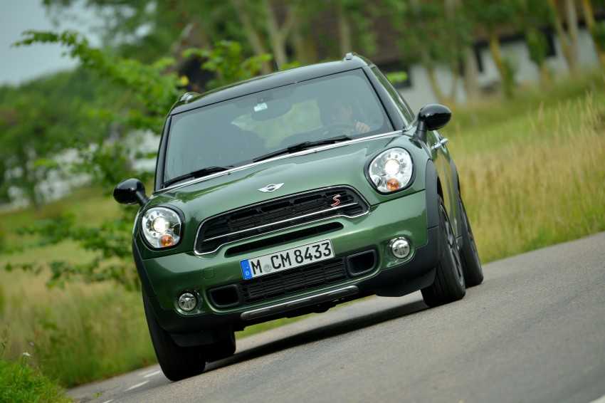 GALLERY: MINI Countryman, Paceman facelift detailed Image #258282