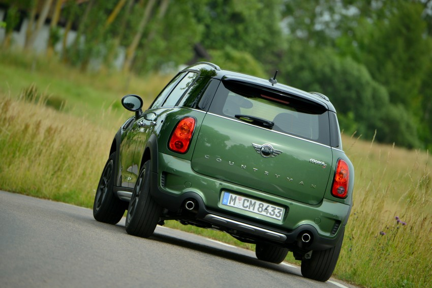 GALLERY: MINI Countryman, Paceman facelift detailed Image #258249