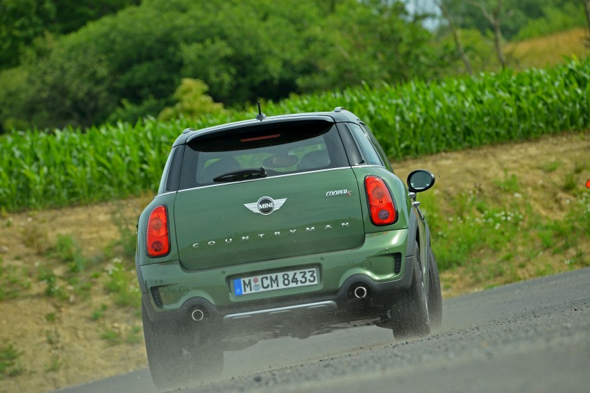 GALLERY: MINI Countryman, Paceman facelift detailed Image #258281