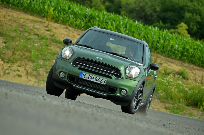 GALLERY: MINI Countryman, Paceman facelift detailed Image #258272
