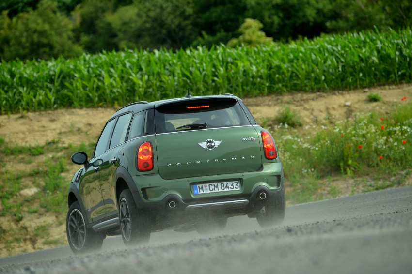 GALLERY: MINI Countryman, Paceman facelift detailed Image #258267