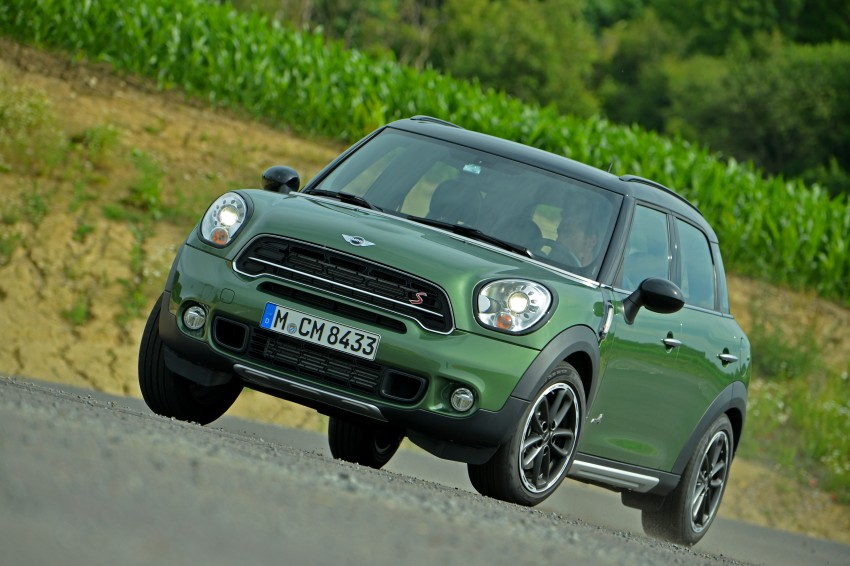 GALLERY: MINI Countryman, Paceman facelift detailed Image #258280