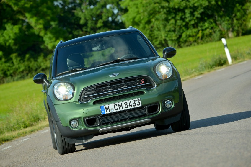 GALLERY: MINI Countryman, Paceman facelift detailed Image #258253